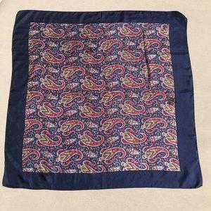 Liberty Made in England Silk Scarf